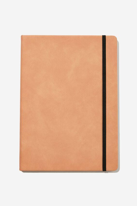 "A4 Buffalo Journal (8.2"" x 11.6""), CLAY"