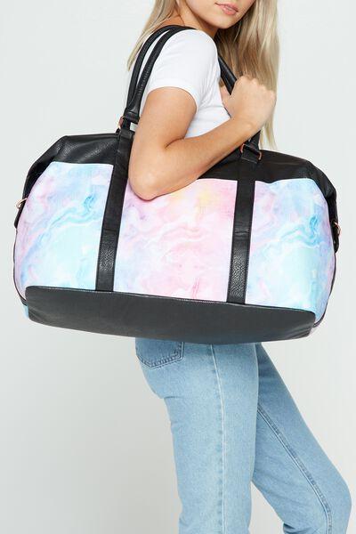 Neo Weekender Duffel Bag, MARBLE