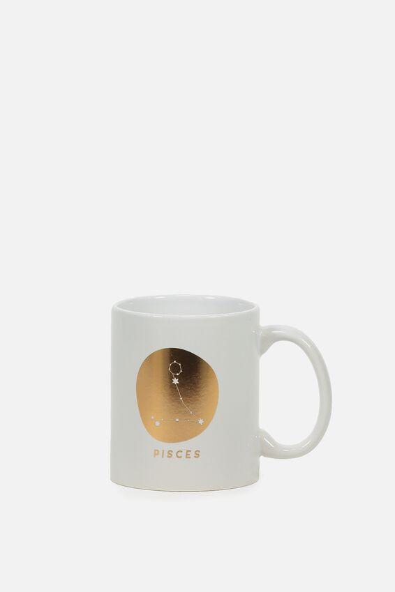 Zodiac Mug, PISCES
