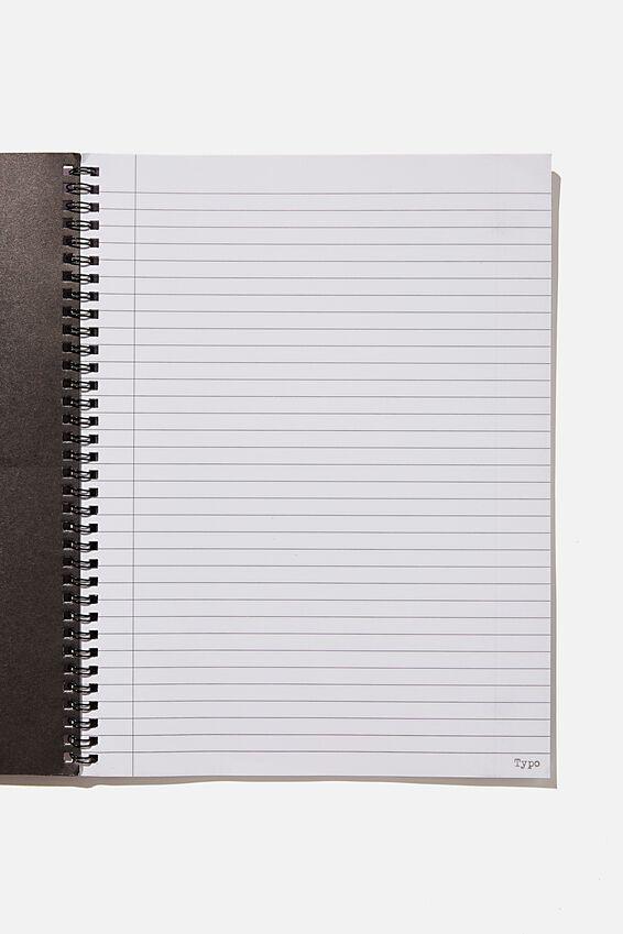 College Ruled Spinout Notebook V, GIRL ILLUSTRATION COMBO