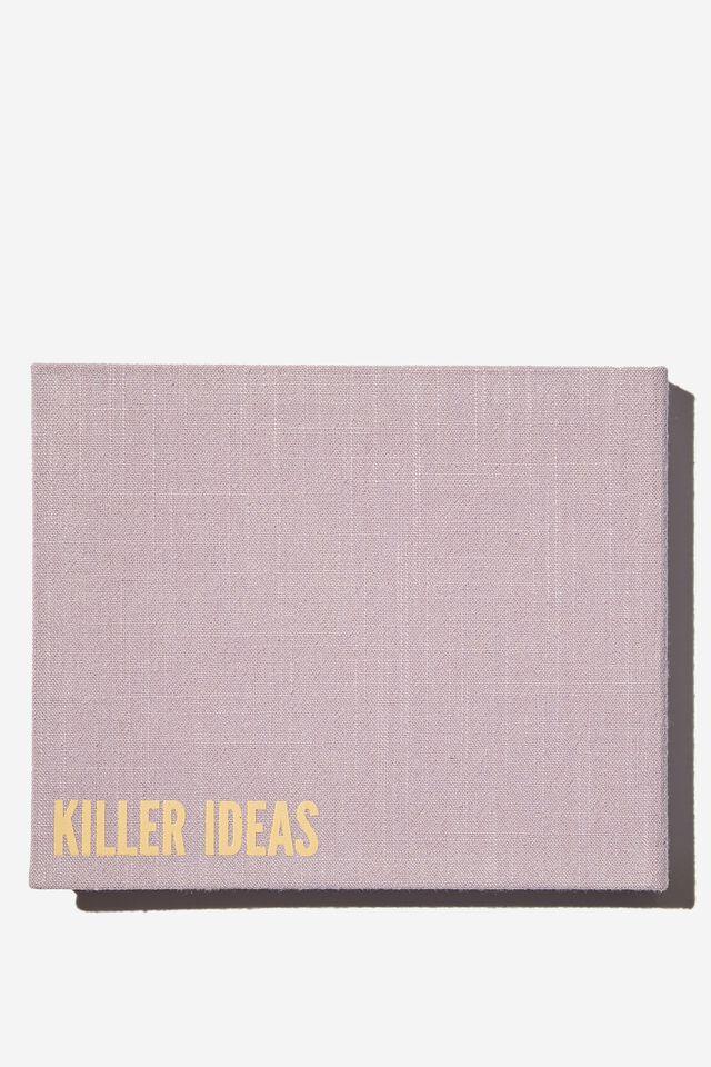 The Ideas Flip Pad, LILAC KILLER IDEAS
