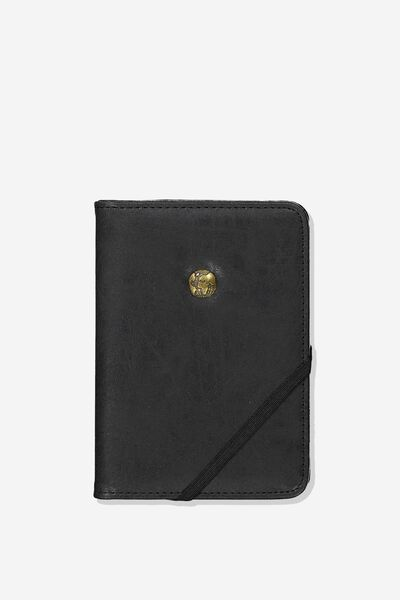 Rfid Passport Holder, BLACK