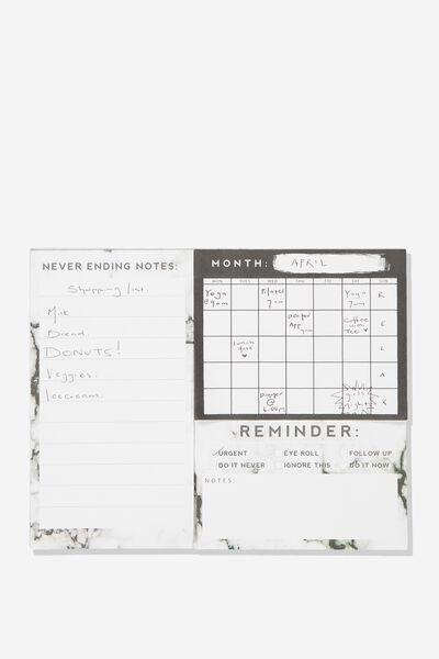 Undated Sticky Note Pack, SNAKE PRINT