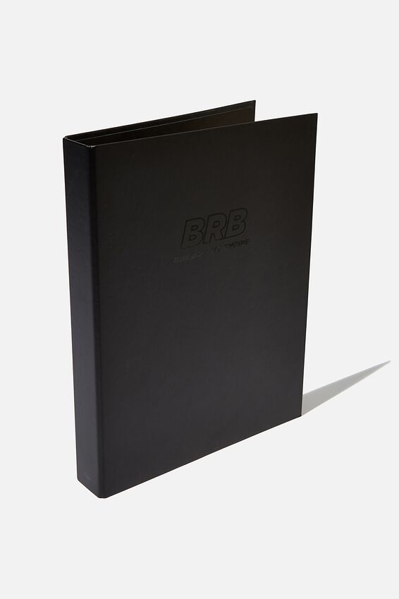 A4 Ring Binder, BUILDING MY EMPIRE