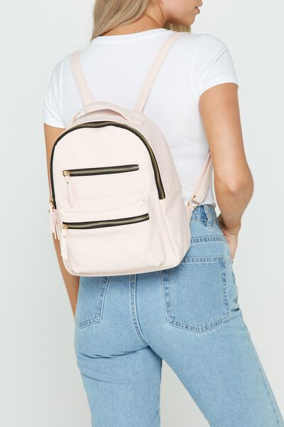 Mini Backpack, BLUSH