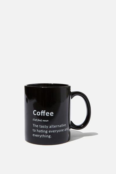 Anytime Mug, COFFEE DEFINITION