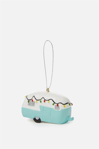 Christmas Ornament, CAMPER