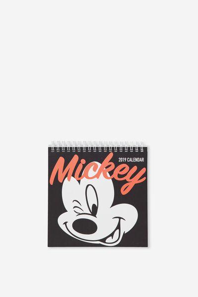2019 Flip Desk Calendar, LCN MICKEY