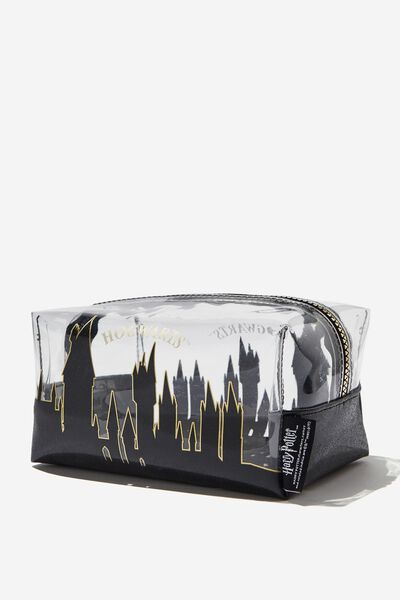 Made Up Cosmetic Bag, LCN WB HPO HOGWARTS SKYLINE