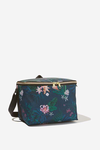 Cooler Lunch Bag, JUNGLE FLORAL