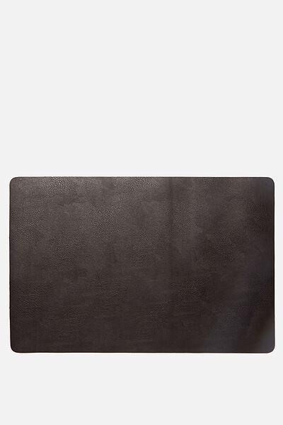 A2 Jumbo Mouse Pad, BLACK PEBBLE