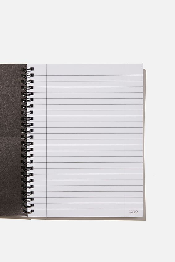A5 Spinout Notebook Recycled, RG ASIA NEON LIGHTS