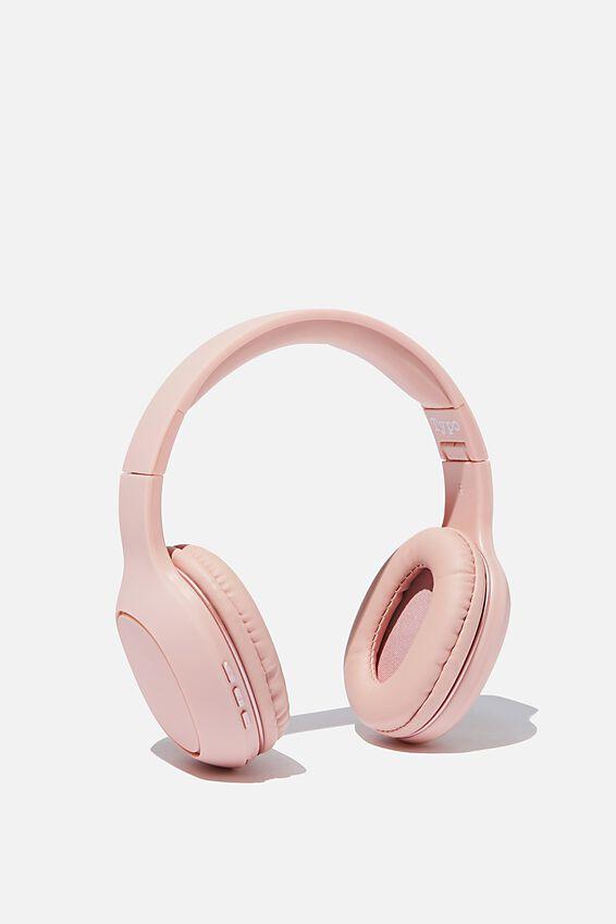 Essential Wireless Headphones, BLUSH
