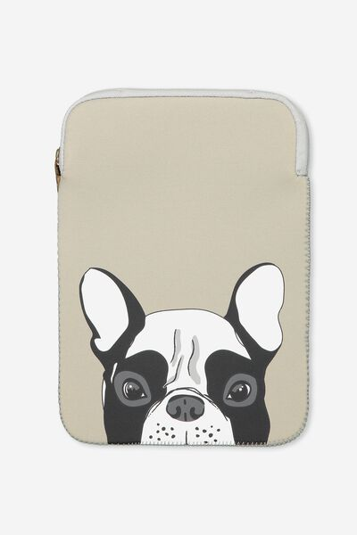 Tablet Sleeve 10 Inch, FRENCHIE