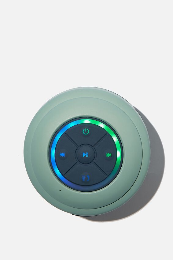 Wireless Led Shower Speaker, SOFT MOSS