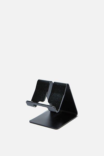 Phone Stand, BLACK