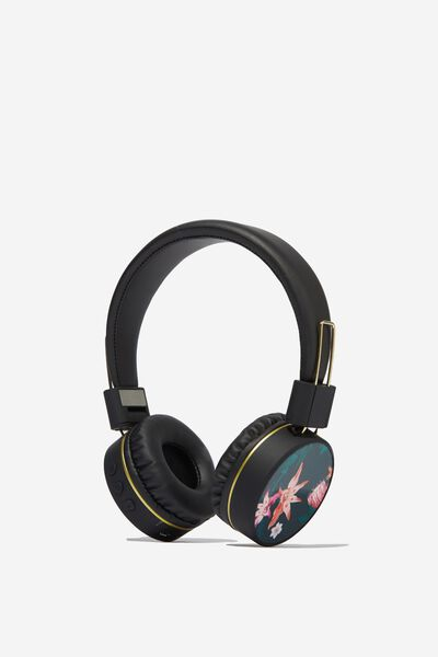 Creative Signal Wireless Headphones, JUNGLE FLORAL