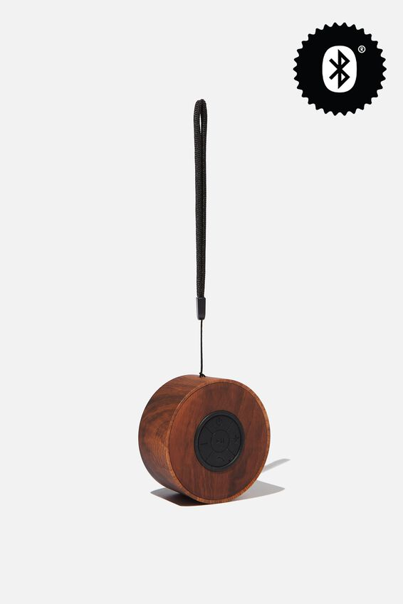 Wanderer Wireless Speaker, DARK WOODGRAIN
