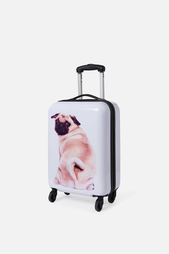 Small Suitcase, BYE PUG