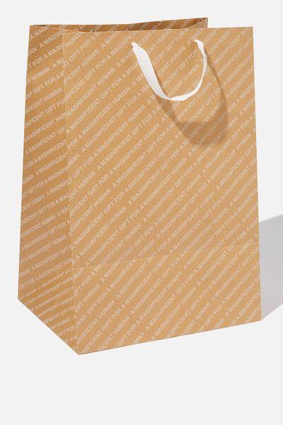 Large Stuff It Gift Bag, CRAFT MAGNIFICENT HUMAN