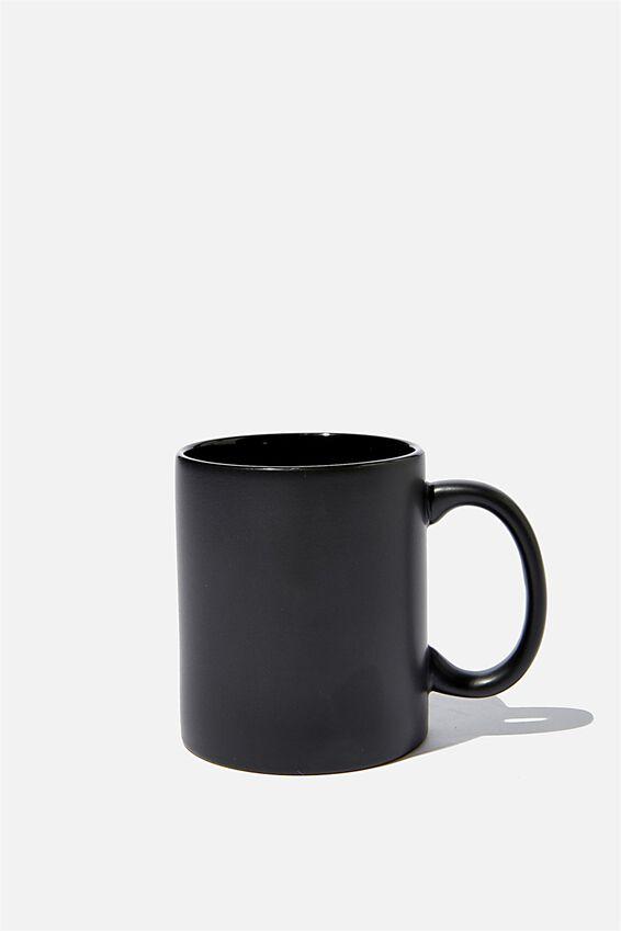 Anytime Mug, MATTE BLACK