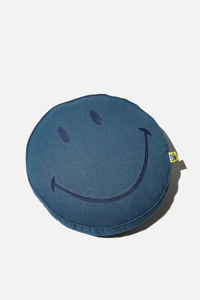 Denim Get Cushy, LCN SMI SMILEY DENIM