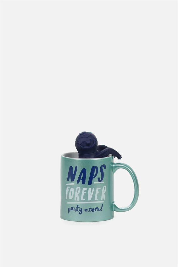 Mug & Tea Infuser Set, SLOTH