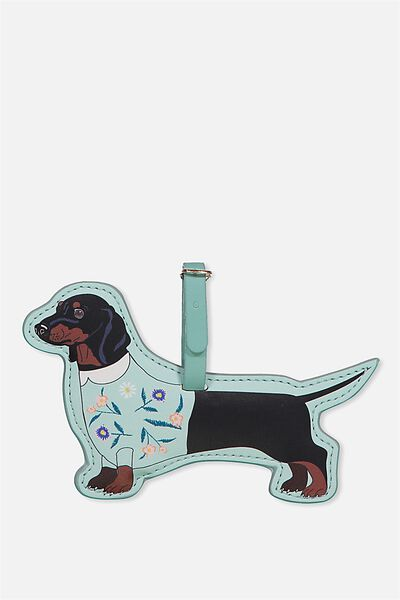 Shape Shifter Luggage Tag, DASCHUND
