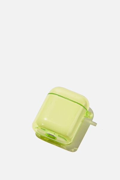 Premium Ear Bud Sleeve, CITRINE TRANSPARENT