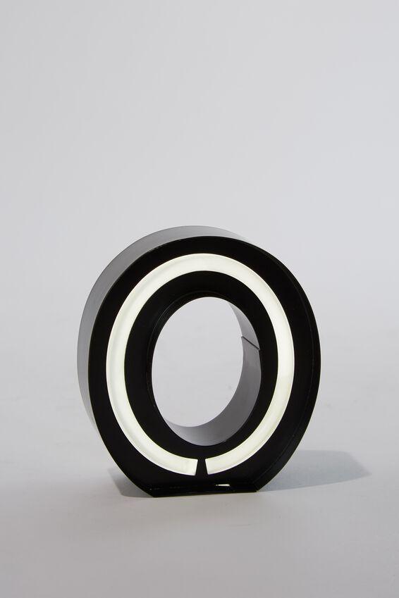 Alpha Tube Light, BLACK O