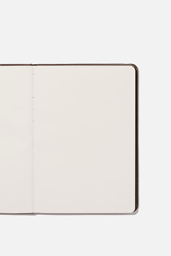 A5 Blank Buffalo Journal, BITTER CHOC