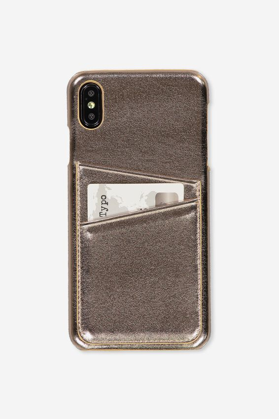 Cardholder Phone Case Iphone Xs Max, ROSE GOLD
