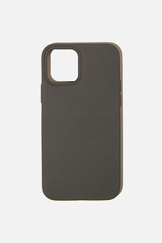 Recycled Phone Case Iphone 12, 12 Pro, COOL GREY