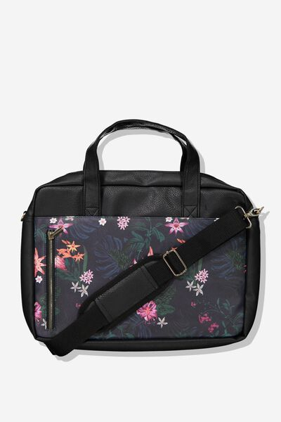 Take Charge Laptop Bag 15in, JUNGLE FLORAL