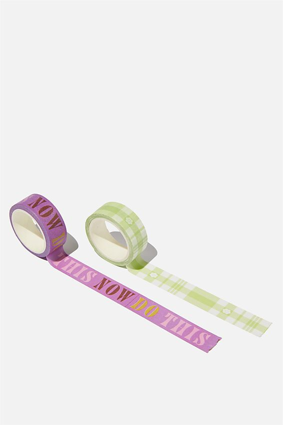 Washi Tape 2Pk, DO THIS NOW