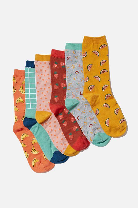 Odd Sock Pack, FRUITS