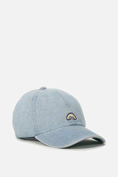Novelty Caps, CHAMBRAY RAINBOW
