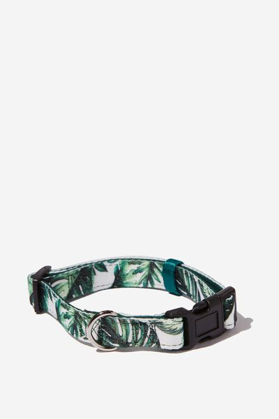 Pet Collar, FOLIAGE - M