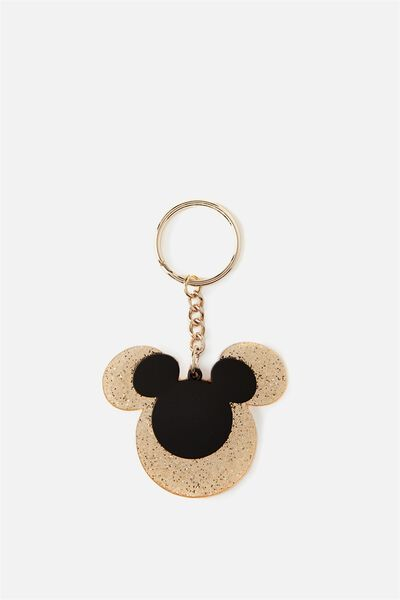 Acrylic Keyring, LCN MICKEY DOUBLE HEAD