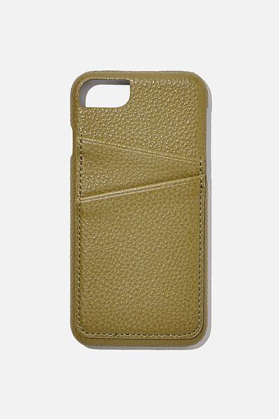 The Phone Cardholder 6,7,8, KHAKI