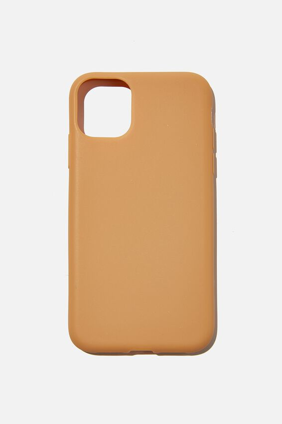 Recycled Phone Case iPhone 11, MID TAN