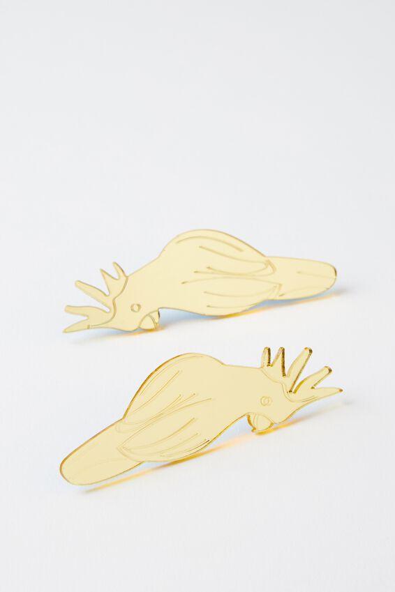 Premium Novelty Earrings, BIRDS