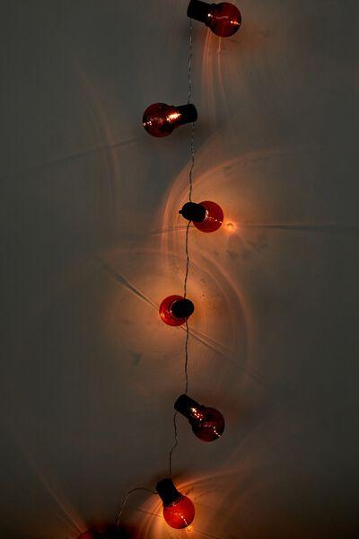 Usb Festoon String Lights 20L, PINK BULBS