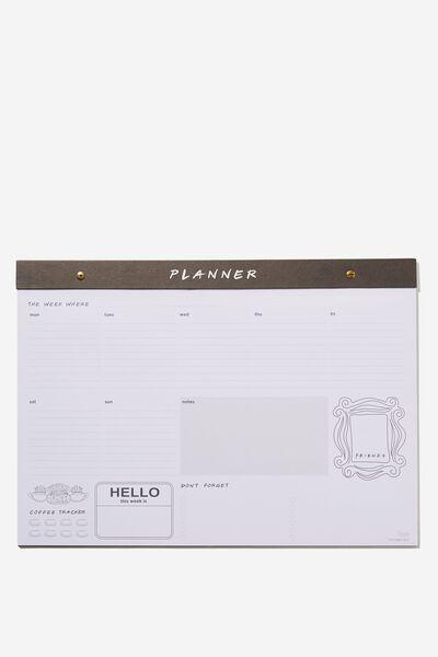 A3 Desk Planner, LCN WB FRIENDS