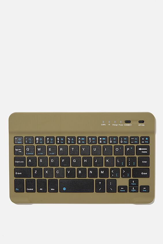 Oh Shift Wireless Keyboard, KHAKI