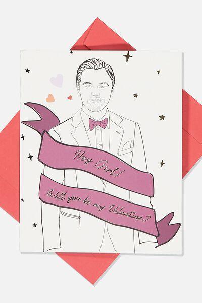 Valentines Day Card 2020, BE MY VALENTINE