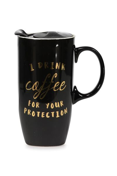Carried Away Mug, COFFEE PROTECTION GOLD