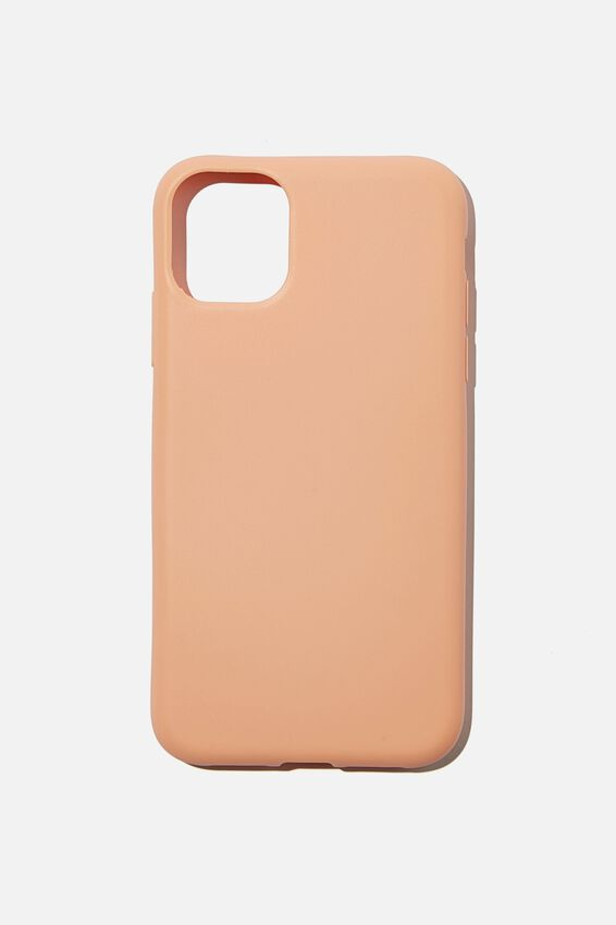 Slimline Recycled Phone Case Iphone 11, PEACH