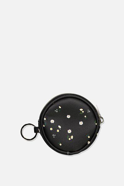 Fashion Coin Purse, DAISY MEADOWS CIRCLE