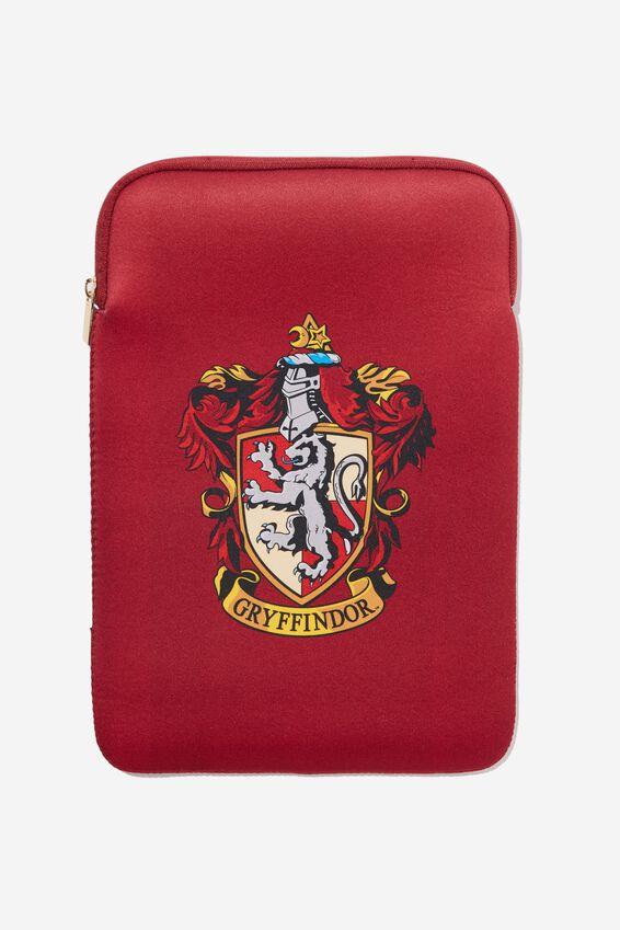 Harry Potter Laptop Sleeve 13 Inch, LCN WB GRYFFINDOR